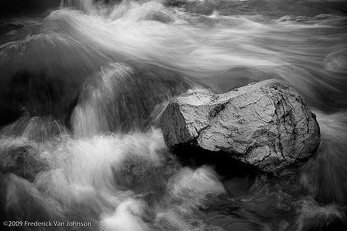 ©Frederick Van Johnson - Wet Rock