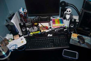 TWiW Messy Desk