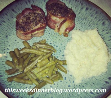 Bacon Wrapped Pork Medalions