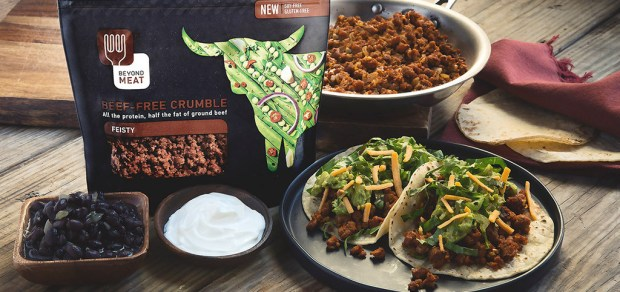 Beyond Meat Feisty Tacos by Chef'd | thiswifecooks.com