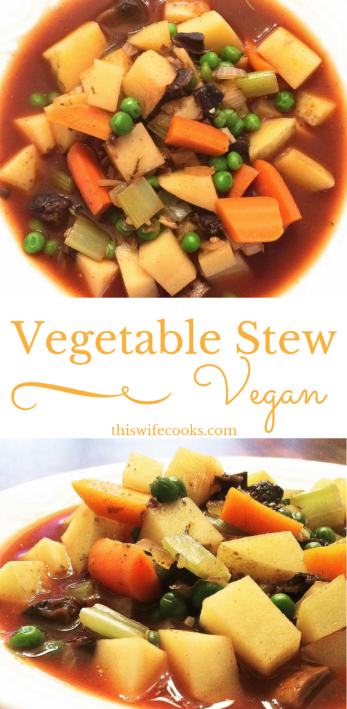 Vegetable Stew | Vegan | thiswifecooks.com