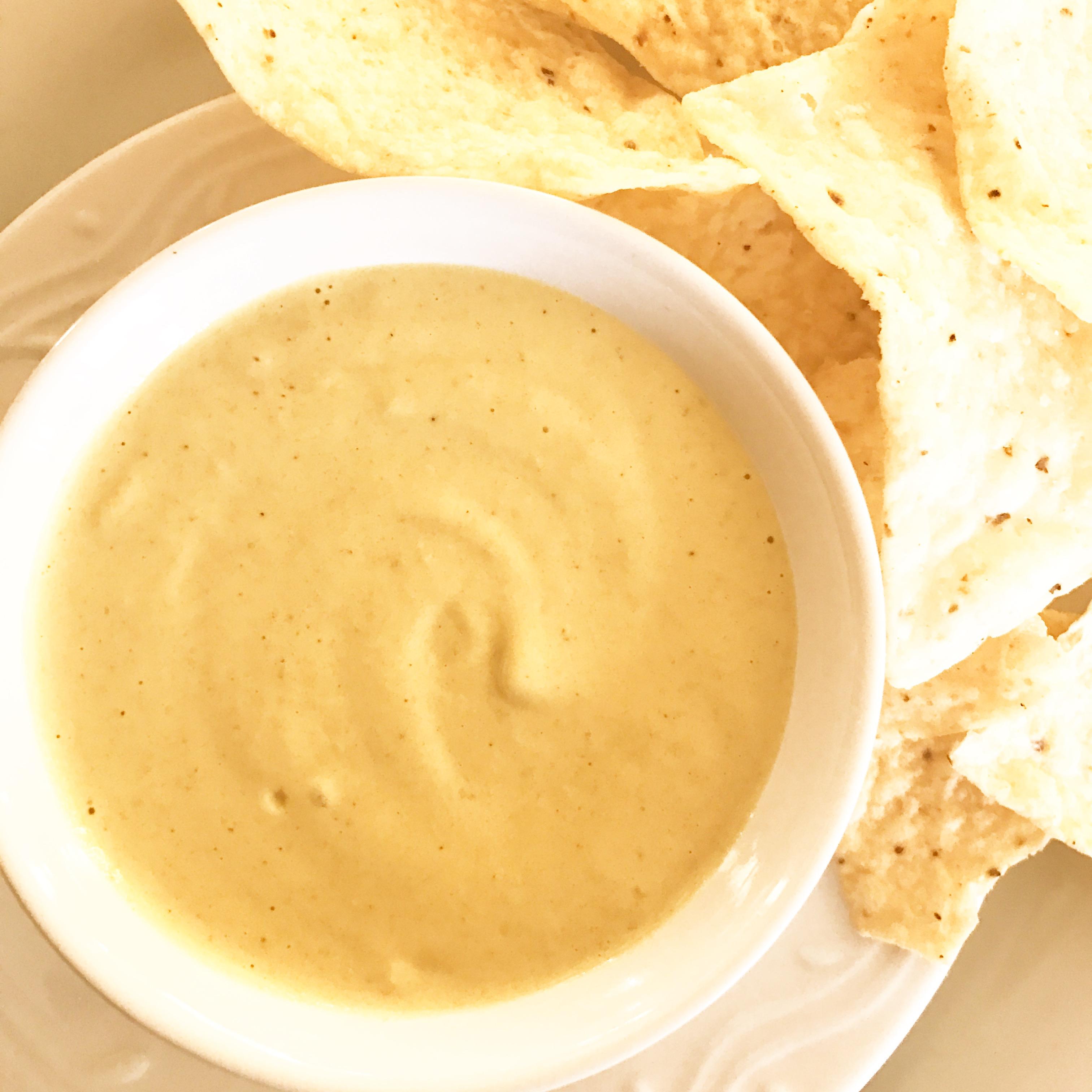 Green Chile Cheesy Sauce