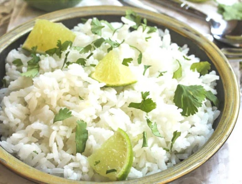 Cilantro Lime Rice | thiswifecooks.com
