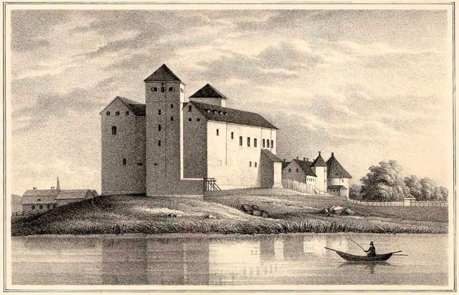 Turku_Castle_in_1845