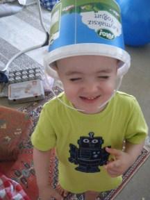 silly Liam bucket head