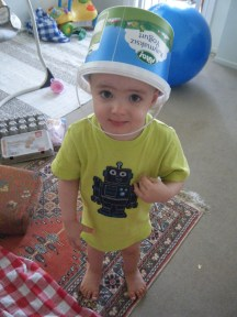 Liam's new hat