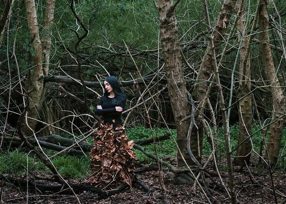 Portrait of Australian artist Polixeni Papapetrou, by Ilona Nelson for This Wild Song