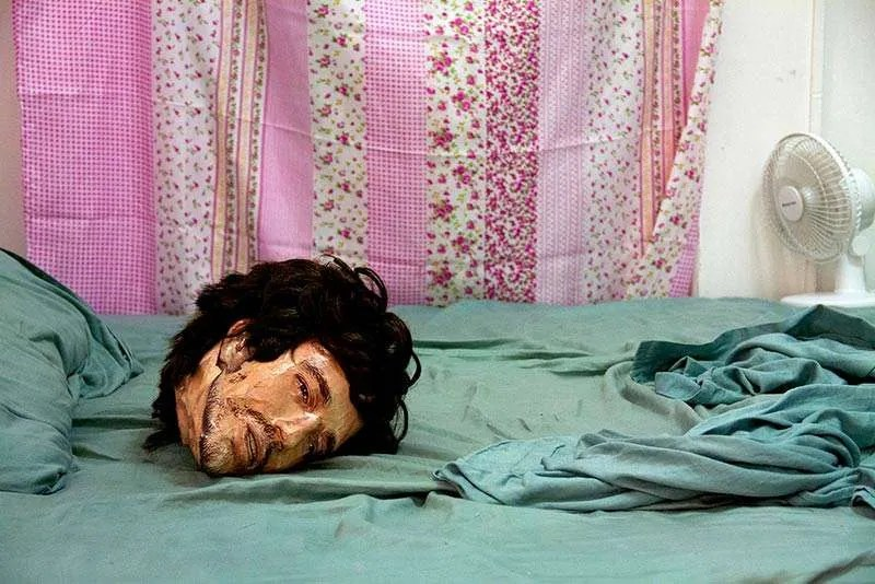 Bonnie Lane, Head on Bed.