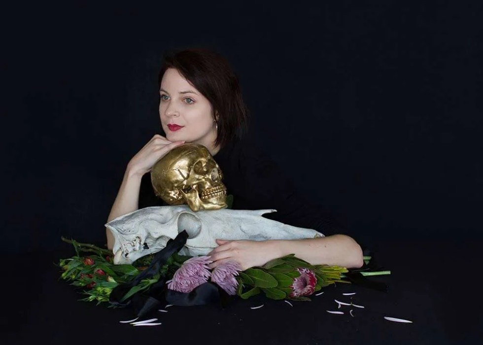 Portrait of Australian artist Karla Marchesi, by Ilona Nelson for This Wild Song