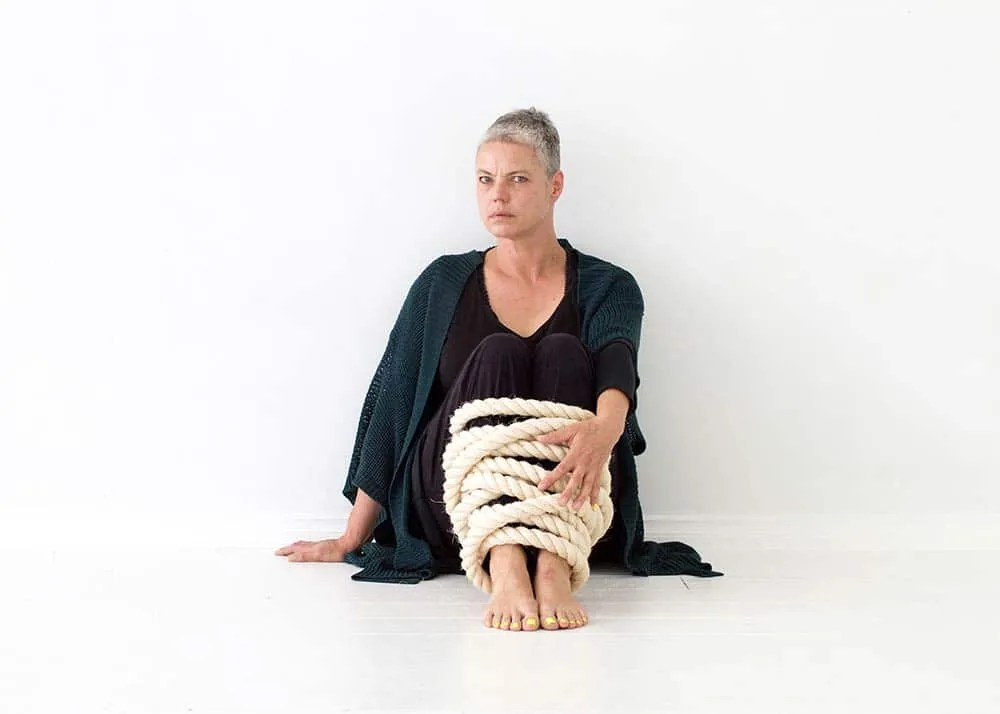Portrait of Australian artist Marise Maas, by Ilona Nelson for This Wild Song