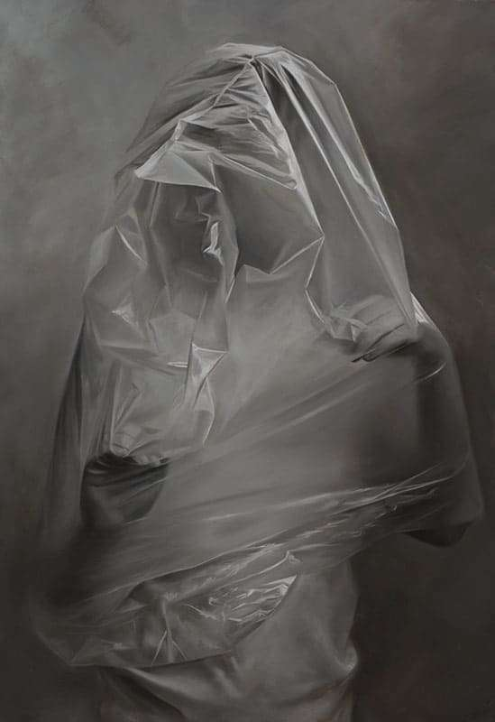Erika Gofton,Threshold, oil on linen