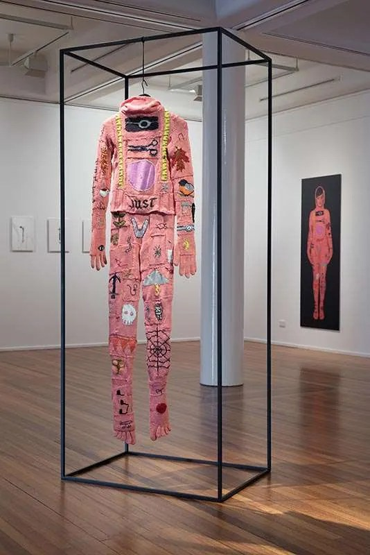 Kate Just, Postscript, A Burial Suit, 2013