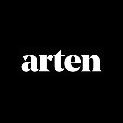 Arten framers and printers, logo