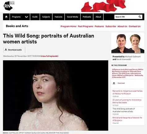 This Wild Song featured on ABC Radio National