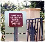 Florida Botanical Gardens in Largo Florida