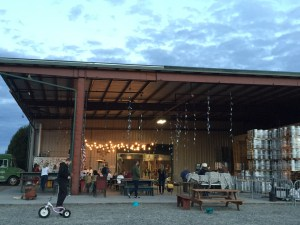 Country music at the brewery