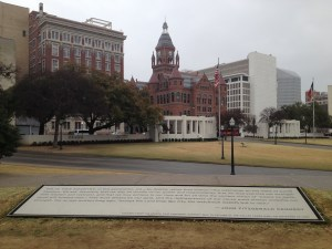 From the Grassy Knoll to Dealey Plaza, Dallas, TX