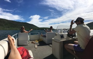 A lazy day on the lake