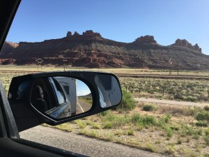 My view coming into Moab. Hot but beautiful