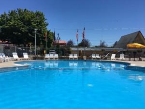 Pool time at the KOA