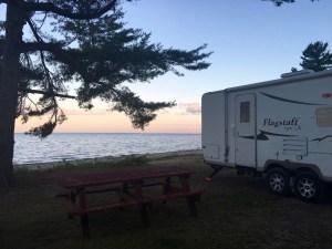 Kleinke County Park, Lake Michigan