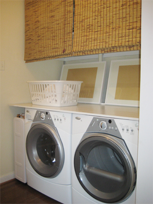 Close Up Laundry Nook