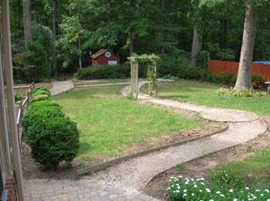 Backyard Destoryed