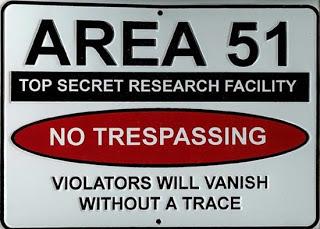 Chẳng có thứ gọi là Vùng 51