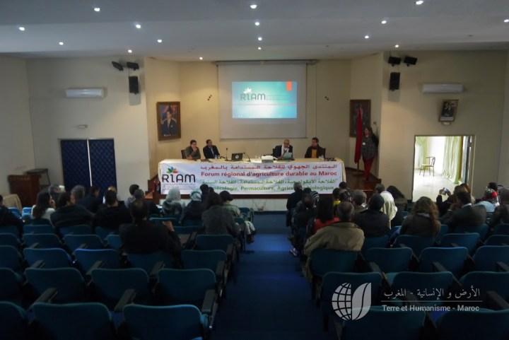 Premier forum d'agriculture durable du RIAM - Mohammedia 13 février 2016 (Photo : Ali Jafri)