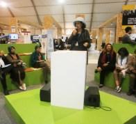 09 Novembre Fettouma Djerrari anime un side event à la Cop22 les agricultures durables
