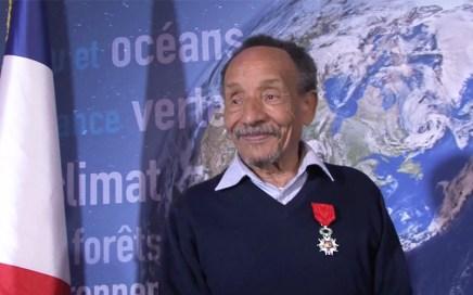 Remise de la Légion d'honneur à Pierre Rabhi par Ségolène Royal