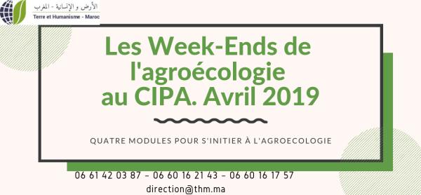 Formation Les weekends de l'Agroécologie Avril 2019