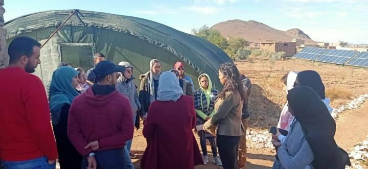 Visite des étudiants de la faculté de Benmsik Casablanca