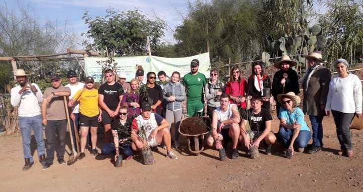 Visite du Lycée FIGEAC au CIPA-Pierre Rabhi