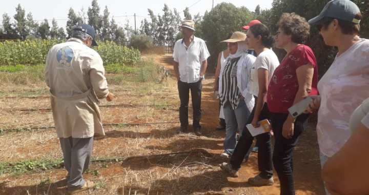 Visite CIPA-pierre Rabhi représentants de AESVT et de la fondation WWF1