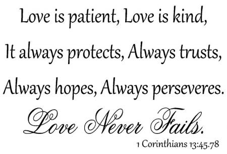 Image result for love is patient