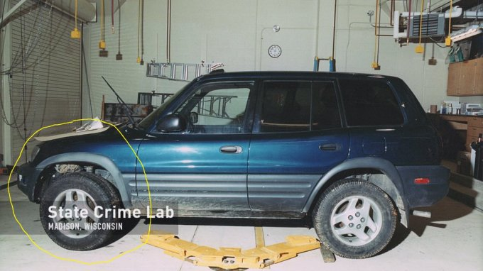 Evidence Rav4 Photos The Murder Evidence Of Teresa Halbach