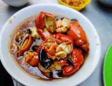 """legs of mangrove stone crabs """"cang cu ky"""""""