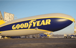 Thomarios Coatings Group Paints the New Goodyear Blimp