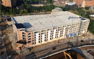 Thomarios Completed Akron Children's Hospital Parking Garage