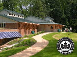 Image of Completed Green Project Metro Parks Ranger Station