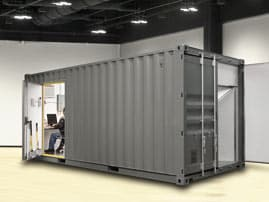 In Progress photo of thomarios building Portable Command Center for Lockheed Martin