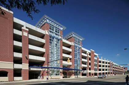 University of Akron – Exchange Street Parking Deck 4