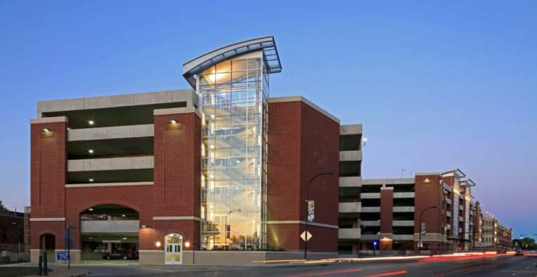 University of Akron – Exchange Street Parking Deck 5