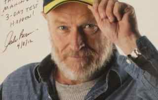 """Photo reads: To all the great folks at Thomarios - Thankd for making """"3-Day Test"""" Happen. Corbin Bernsen 4/8/12"""