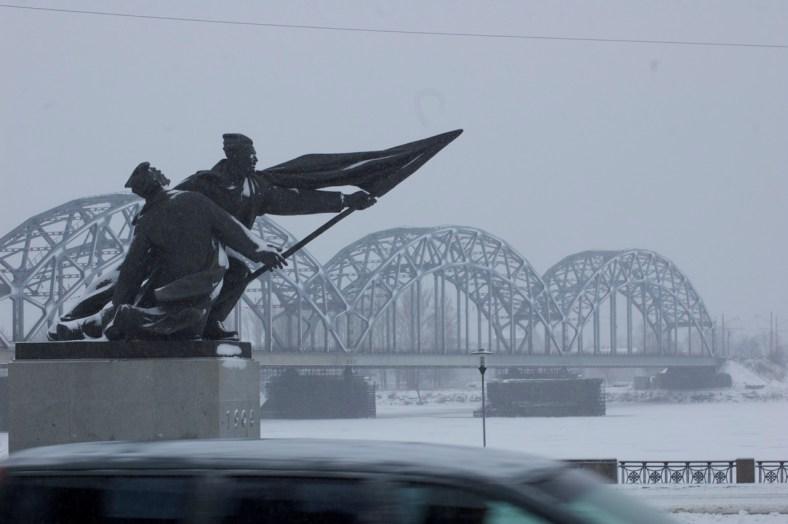 Dzelzceļa tilts - Riga