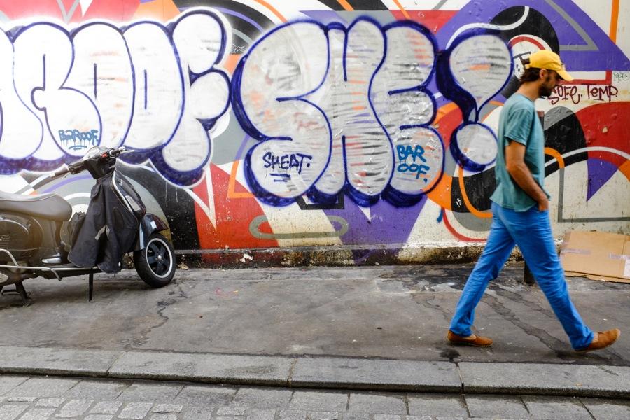 0914 Paris Graffiti