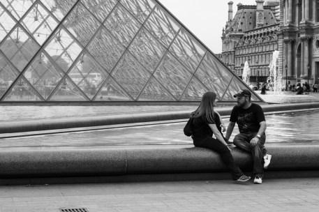 Voici une des photos réalisées lors de mon séjour parisien en septembre. Elle est toute simple, mais j'espère qu'elle retiendra l'attention du jury.