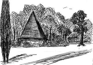 ArkadSk11 Neuer Garten Pyramide