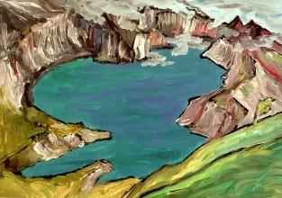 Azoren3-Caldera Lagoa Verde